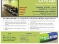 2015 7-14  Affordable Care Act -aka Obama Care
