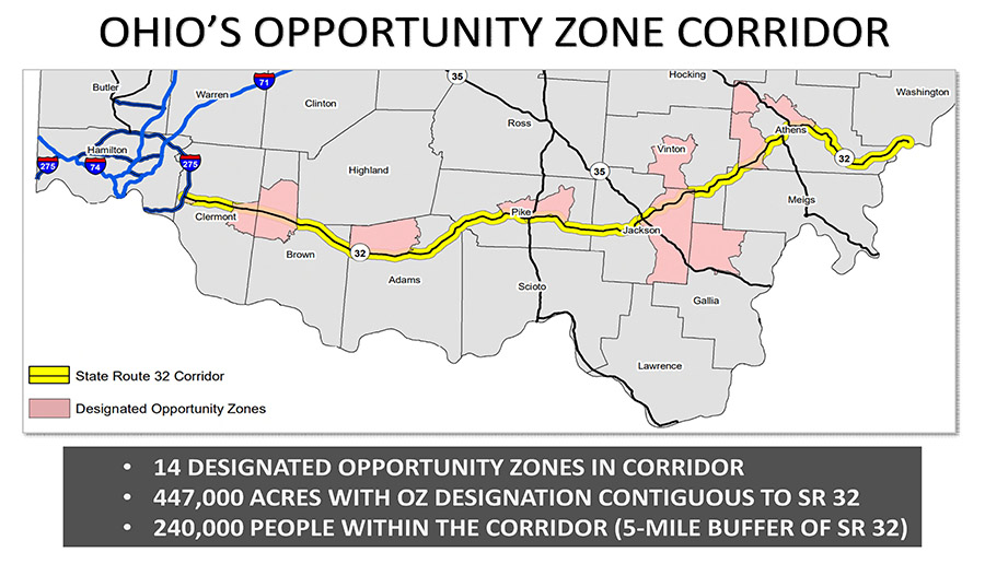 Ohio's Opportunity Zone Corridor