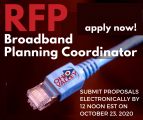 Request for Proposals (RFP) for Broadband Planning Coordinator