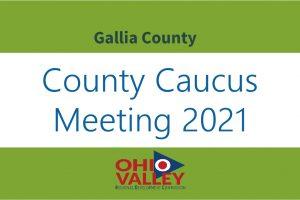 Gallia County Second Round Caucus Meeting