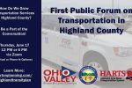 [PRESS RELEASE] Highland County Coordinated Transit Plan Update