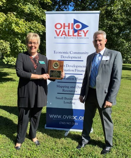 Jobs Ohio/OhioSE for their PPE project supplying thousands and thousands of kits with personal protective equipment (PPE), masks, and hand sanitizer to small businesses in all twelve OVRDC counties and across Ohio, helping 15,000 small businesses safely re-open in the summer of 2020.