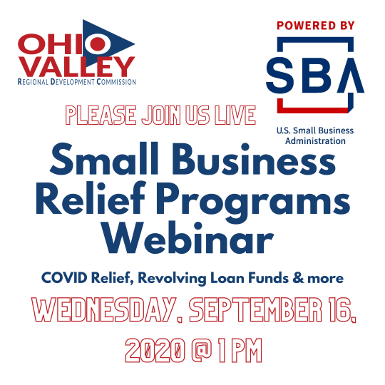 Small Business Relief Programs Live Webinar