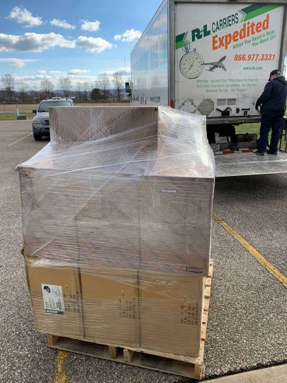 Pike County PPE shipment delivered by truck