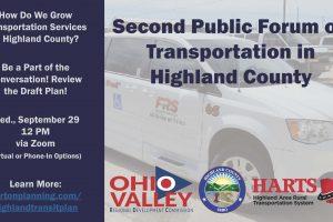 Highland County Transportation Plan Update