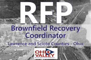 Now Accepting Request for Proposals (RFP) Brownfield Recovery Coordinator