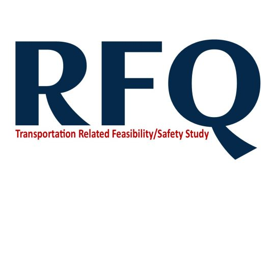 Accepting Quotes for Feasibility/Safety Transportation Study