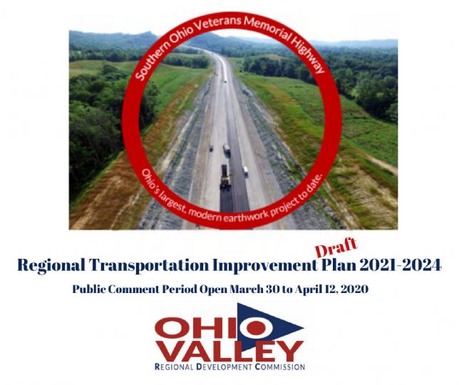 Public Comment Period Now Open for Regional Transportation Improvement Plan