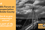 PRESS RELEASE: Scioto County Mobility Transportation Plan Public Forum #2