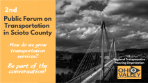 PRESS RELEASE: Scioto County Mobility Transportation Plan Public Forum #2