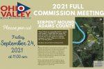 OVRDC's Full Commission Meeting – September 24, 2021